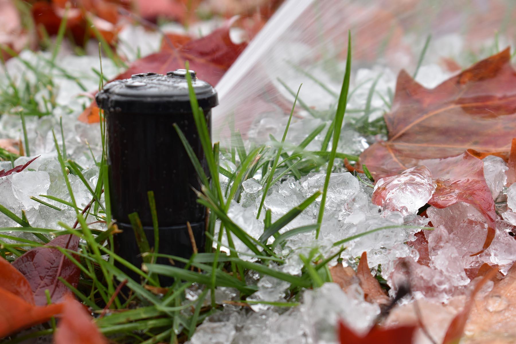 professional East Brunswick NJ irrigation winterization blowout
